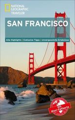 National Geographic Traveler San Francisco mit Maxi-Faltkarte