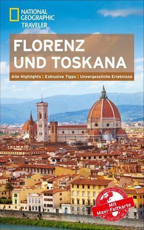 National Geographic Traveler Florenz und Toskana mit Maxi-Faltkarte