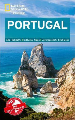 National Geographic Traveler Portugal mit Maxi-Faltkarte