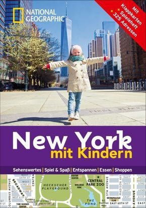 National Geographic Familien-Reiseführer New York mit Kindern