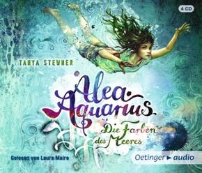 Alea Aquarius - Die Farben des Meeres, 4 Audio-CDs