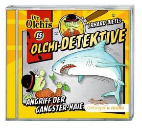 Die Olchi-Detektive - Angriff der Gangster-Haie, 1 Audio-CD