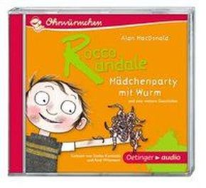 Rocco Randale - Mädchenparty mit Wurm, Audio-CD