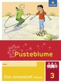 Pusteblume. Das Sprachbuch, Allgemeine Ausgabe 2015: 3. Schuljahr, Das Arbeitsheft inklusiv