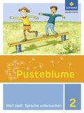 Pusteblume, Die Werkstatt-Sammlung (2016): 2. Schuljahr, Werkstatt: Sprache untersuchen