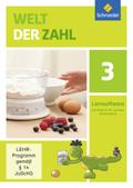 Welt der Zahl, Allgemeine Ausgabe 2015: 3. Schuljahr, 1 CD-ROM; Bd.3