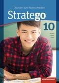 Stratego - Übungen zum Rechtschreiben, Ausgabe 2014: 10. Schuljahr, Arbeitsheft
