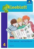 Kleeblatt, Das Heimat- und Sachbuch, Ausgabe Bayern (2014): 4. Jahrgangsstufe, Schülerband