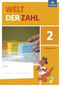 Welt der Zahl, Ausgabe 2016 Berlin, Brandenburg, Mecklenburg-Vorpommern, Sachsen-Anhalt, Thüringen: 2. Schuljahr, Arbeitsheft; Bd.2