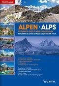 Reiseatlas Alpen; Alps