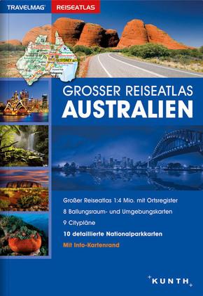 Großer Reiseatlas Australien