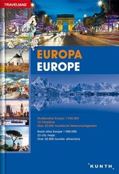Reiseatlas Strassenatlas Europa