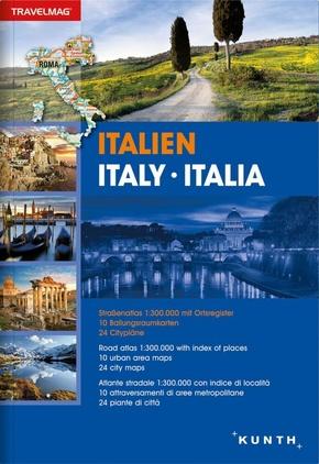 Reiseatlas Italien; Italy / Italia