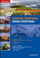 Reiseatlas Spanien/Portugal; Spain/Portugal