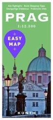 EASY MAP Deutschland/Europa Prag