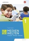Medienwelten - Arbeitsheft - Tl.1