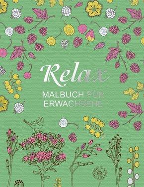 Malbuch für Erwachsene: Relax