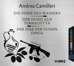 Die Form des Wassers / Der Hund aus Terracotta / Der Dieb der süßen Dinge, 6 Audio-CDs