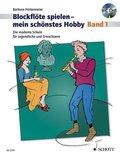 Blockflöte spielen - mein schönstes Hobby, Sopranblockflöte, m. Audio-CD - Bd.1