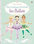 Mein Anziehpuppen-Stickerbuch - Im Ballett - Mit über 400 Stickern