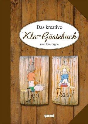 Das kreative Klo-Gästebuch zum Eintragen