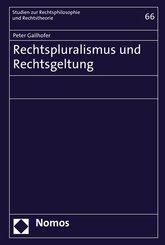Rechtspluralismus und Rechtsgeltung