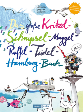 Das große Kritzel-Schnipsel-Maggel-Ruffel-Tüdel-Hamburg-Buch