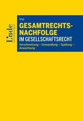 Gesamtrechtsnachfolge im Gesellschaftsrecht (f. Österreich)