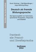 Deutsch als fremde Bildungssprache