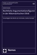 Rechtliche Argumentationsfiguren in der Nikomachischen Ethik