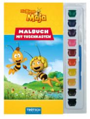 Die Biene Maja, Malbuch mit Tuschkasten