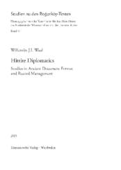 Hittite Diplomatics