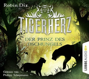 Tigerherz - Der Prinz des Dschungels, 4 Audio-CDs