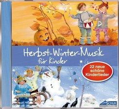Herbst-Winter-Musik für Kinder, 1 Audio-CD