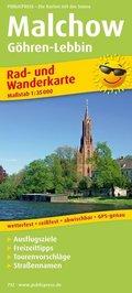PublicPress Rad- und Wanderkarte Malchow, Göhren-Lebbin