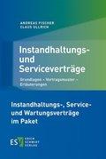 Instandhaltungs- und Serviceverträge - Wartungsverträge, 2 Bde.