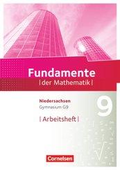 Fundamente der Mathematik, Gymnasium Niedersachsen G9: 9. Schuljahr, Arbeitsheft