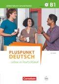 Pluspunkt Deutsch - Leben in Deutschland: Arbeitsbuch (Gesamtband) mit Audio-CD; Bd.B1
