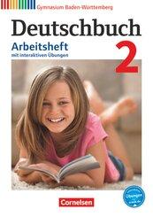 Deutschbuch, Gymnasium Baden-Württemberg (Bildungsplan 2016): 6. Schuljahr, Arbeitsheft mit interaktiven Übungen; 2