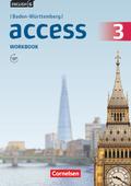English G Access, Ausgabe Baden-Württemberg: 7. Schuljahr, Workbook; Bd.3