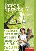 Praxis Sprache, Differenzierende Ausgabe 2015 für Baden-Württemberg: 7. Klasse, Arbeitsheft
