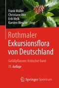 Exkursionsflora von Deutschland: Gefäßpflanzen, Kritischer Band; Bd.2
