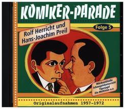 Komikerparade, 1 Audio-CD - Folge.5