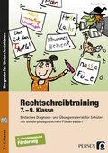 Rechtschreibtraining - 7.-9. Klasse, m. CD-ROM