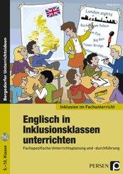 Englisch in Inklusionsklassen unterrichten, m. 1 CD-ROM