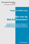 Wie lernt die Web-2.0-Generation?