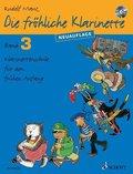 Die fröhliche Klarinette, m. Audio-CD, Neuauflage - Bd.3