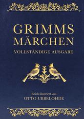 Grimms Märchen - vollständig und illustriert (Cabra-Lederausgabe)