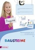 Bausteine Spracharbeitshefte, Ausgabe 2015: Spracharbeitsheft 4 Teil A/B/C mit Methodenheft, 3 Hefte