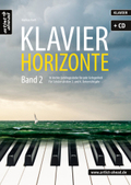 Klavier-Horizonte, m. Audio-CD - Bd.2